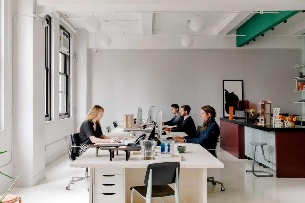 Chic sunny loft / office