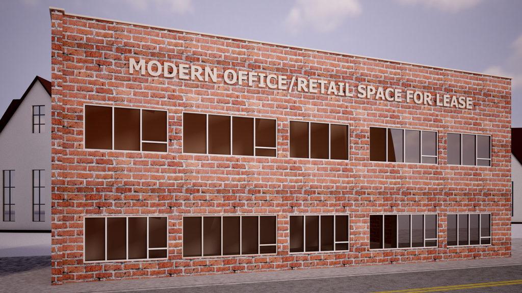 FULL FLOOR MODERN OFFICE / RETAIL - Commercial Lease